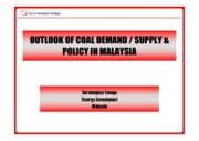 (Session3-B)Coal Demand-Supply Outlook in Malaysia