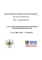 Administrative Practices and Procedures - final