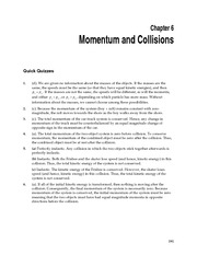 physics - ch 6 solutions