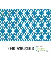 Control system lecture 10.pdf