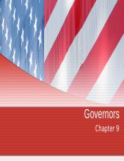 Chapter 9- Governors (1)