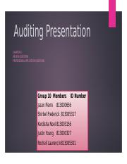 Auditing_Presentation-Group_10