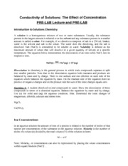 Lab 5 Conductimetric Titration