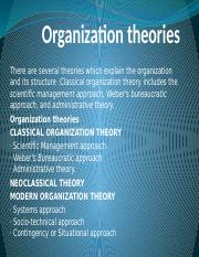 UNIT 3 - organizationtheories-120924233034-phpapp02.pptx.ppt