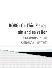 Borg 8 & 9 (Thin places and salvation).pptx