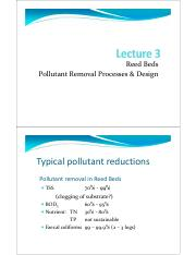 2016 - Block 3 - Red bed Pollutant Removal Processes & Design