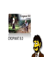 0601 CropWat printable version