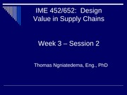 IME 452-652_Week 3 session 2 _winter 2015
