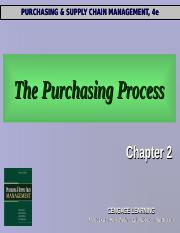ch2 purchasing process