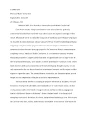 exploratory essay final draft jon mccarble professor martha  5 pages exploratory essay rough draft