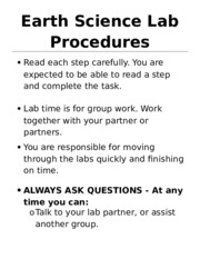 Earth Science Lab Procedures.docx