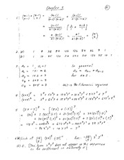 Chapters 5 and 6 Homework Solutions on Combinatorics