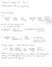 S14 HW#1 Solutions
