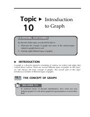 13160035Topic10IntroductiontoGraph