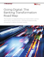 Going Digital - The Banking Transformation Road Map.pdf