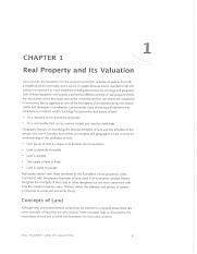 03-PDF-Valuation of Real Estate-Ch 1-Real Property and its Valuation