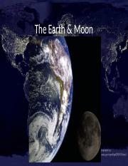 Chapter 6 Earth & Moon