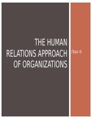Topic 4 - Human Relations.ppt
