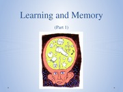 1-4_Learning and Memory 1