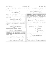 Math 1172 12.6 Solutions Sp 2014