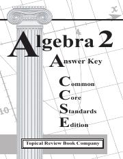 algebra 2 topical review common core answer key.pdf