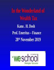 Wealth Tax Updated 2019.ppt