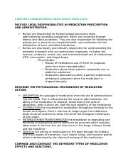 Medication objectives.docx