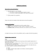 CHAPTER 13 - INFERENTIAL STATISTICS.docx