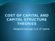 Cost of Capital-2