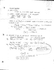 Solubility Equilibria Notes 7:22