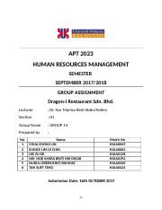 HR full assignments (1).docx