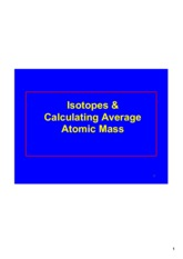Isotopes_&_ave_atomic_mass_lesson_for_posting
