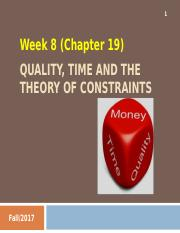 Week 8 - Quality, Time and the Theory of Constraints (complete).ppt
