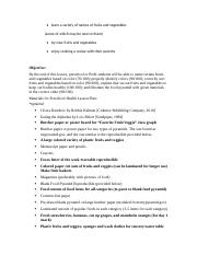 Fruit and vegetable lesson plan.rtf