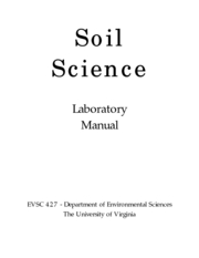 Soil scince laboratory manual