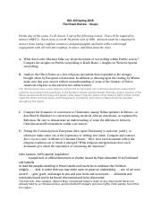 REL 320 Spring 2018_First Exam Review_Essays(1).docx