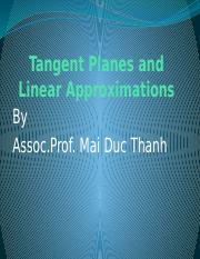 L4-Tangent Plane and Linear Approximation