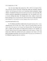 Federalist democratic republican essay
