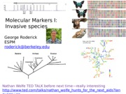 Lecture 5 Molecular Markers I.pptx
