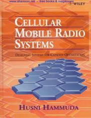 Cellular Mobile Radio Systems [Husni Hammuda] 1997