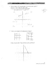 Test Review Answers:Solutions