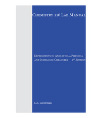 CHEM 116 LAB MANUAL 3RD EDITION