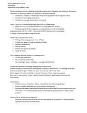 Reading and Lecture Notes - Luker