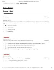 Personality Psych Chapter 1 quiz Romil