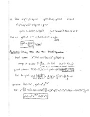 bessel equation problems study guide