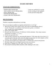 InClassReview_Exam2 with Answers