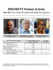 KeithRN Case Study Part 3-Priority .docx