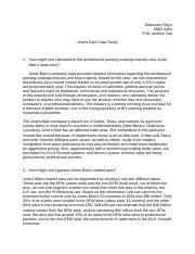 jones blair company case study essays Abrams company case essay below is an essay on abrams company case from anti essays bayfield mud company case study jones blair company case.