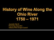 INDIANA WINERY JEANETTE MERRITT LECTURE 5a