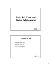 BRAE 236 Soil-Plant-Water Lecture